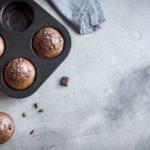 Muffins au chocolat light sans oeufs