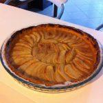 Tarte aux pommes, compote, confiture d'abricot
