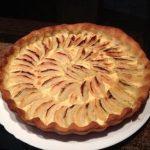 Tarte facile aux pommes et miel