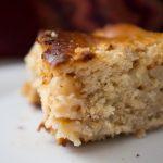 Gâteau léger pommes miel