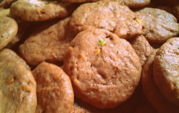 Cookies aux pépites de chocolat et pistaches