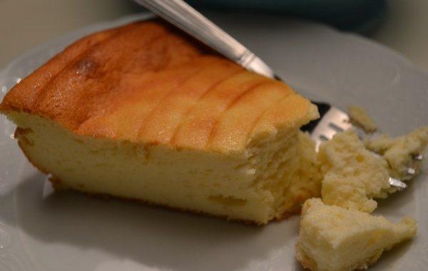 Gâteau au fromage blanc et à la vanille