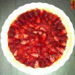 Tarte aux fraises cuites simplissime de Made