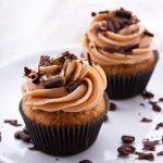 Cupcakes coeur de marron