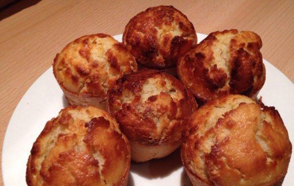 Muffins américains aux raisins secs