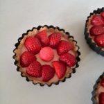 Tartelette de fraise à la crème Tagada