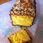 Cake aux abricots et aux amandes