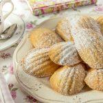 Madeleines à la vanille sans sucre