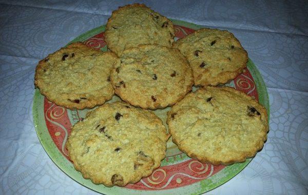 Biscuits à la banane et aux dattes – Sans gluten, sans lactose