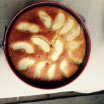 Gâteau au yaourt pomme, citron, miel