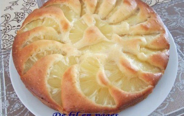 Gâteau facile à l'ananas de Faby