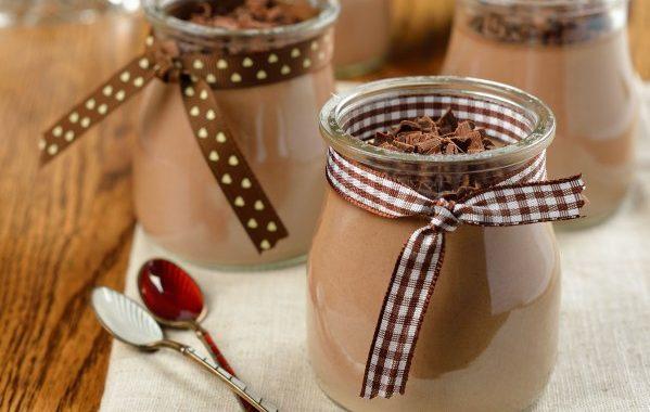 Crème au chocolat vite faite