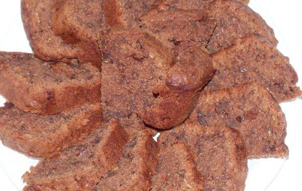 Cake aux courgettes et chocolat