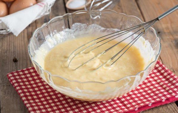 Pâte à crêpes légères