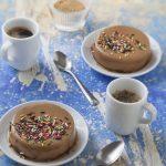 Flans au café et à l'agar agar