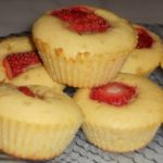 Mini cakes aux fraises