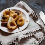 Poêlée de poires à la vanille