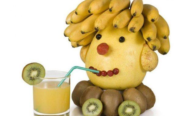 Tête en fruits