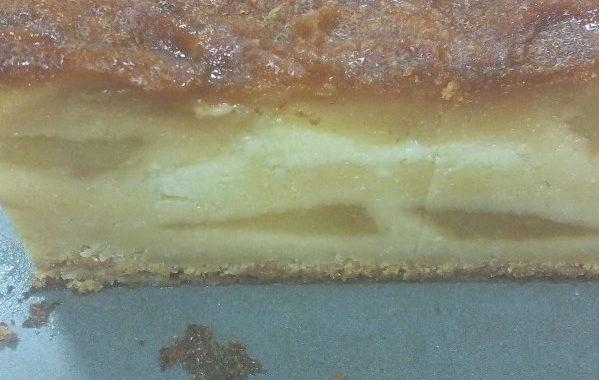 Gâteau aux pommes caramel