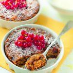 Pudding au gingembre et fruits secs version cocotte minute