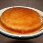 Flan aux pommes caramélisé sans farine