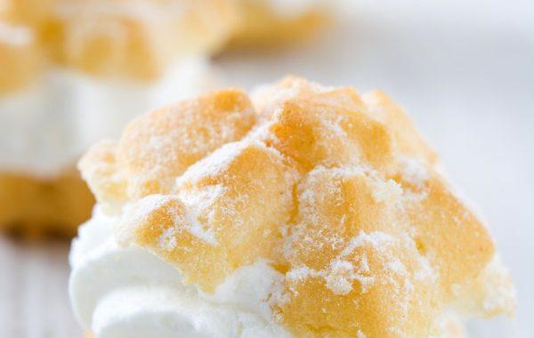 Choux à la crème vanille