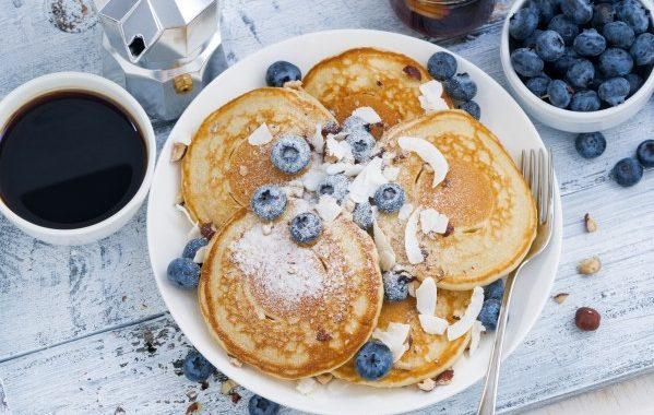 Mini pancakes à la vanille