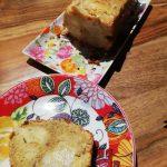 Gâteau aux pommes et aux noix, à la farine d'épeautre
