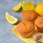 Muffins citron miel amandes