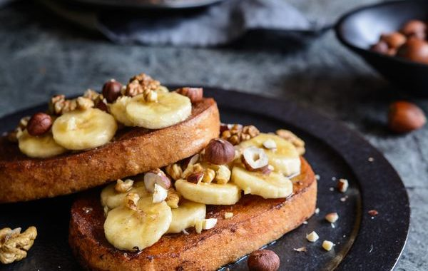 Pain complet perdu banane et aux amandes