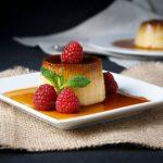 Crème caramel à la mexicaine, réalisée au Cookeo