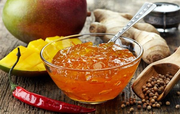Chutney à la mangue, au Cookeo