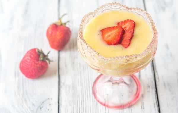 Sabayon aux fraises au Cookeo