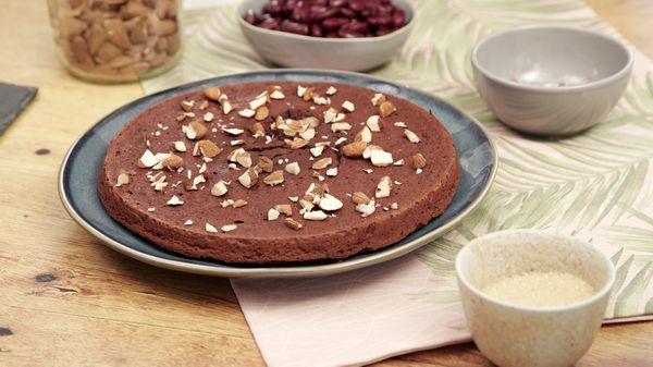 Gâteau au chocolat aux haricots rouges