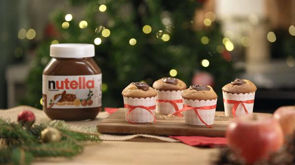 Muffins Pommes au Nutella®