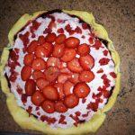 Tarte aux fruits rouges et mascarpone