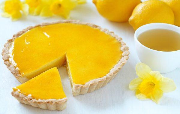 Tarte au citron (très citronnée !)