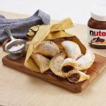 Chaussons dorés au Nutella®