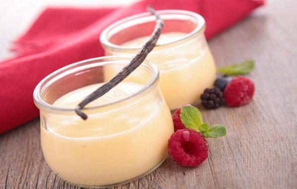 Petites crèmes express à la vanille