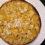 Tarte à l'ananas et à la crème de coco