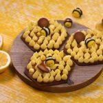 Nids d'abeilles au citron et au miel
