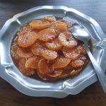 Carpaccio de clémentines aux épices
