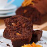 Gâteau tendre au chocolat et à l'orange