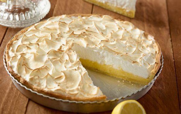 Tarte au citron meringuée au lait concentré sucré