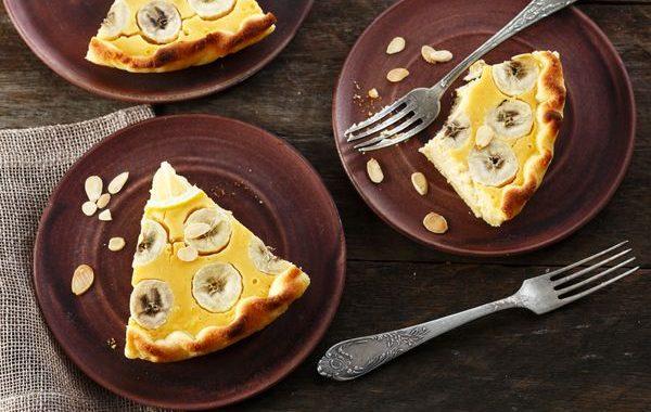 Tarte banane et citron