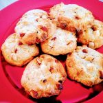 Cookies au chocolat blanc, amandes et noix de coco
