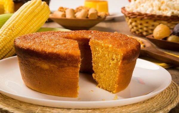 Pan de elote (Gâteau au maïs)