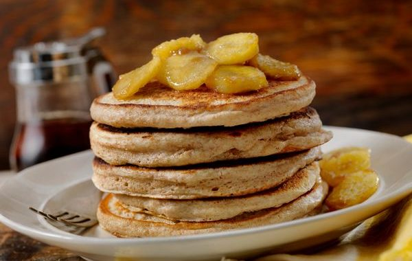 Pancakes à la banane (Tortitas de banano)