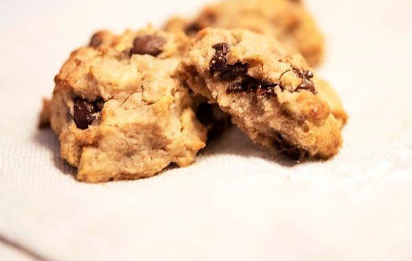 Cookies à la banane – Sans gluten, sans sucre et sans beurre