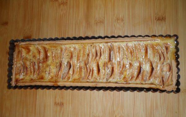 Tarte aux pommes à l'alsacienne/Apfelkuche
